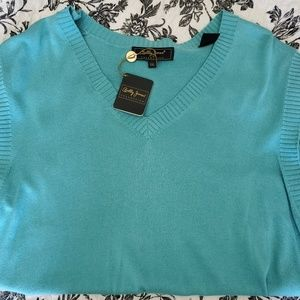 Mens sweater- no sleeves